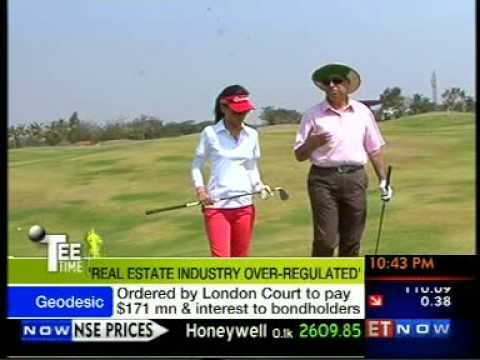 ET NOW's Tee Time at Prestige Golfshire, with Irfan Razack,