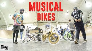 PLAYING MUSICAL BIKES!
