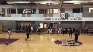 """Jared """"The Body"""" Rhoden Dunks on Two"""
