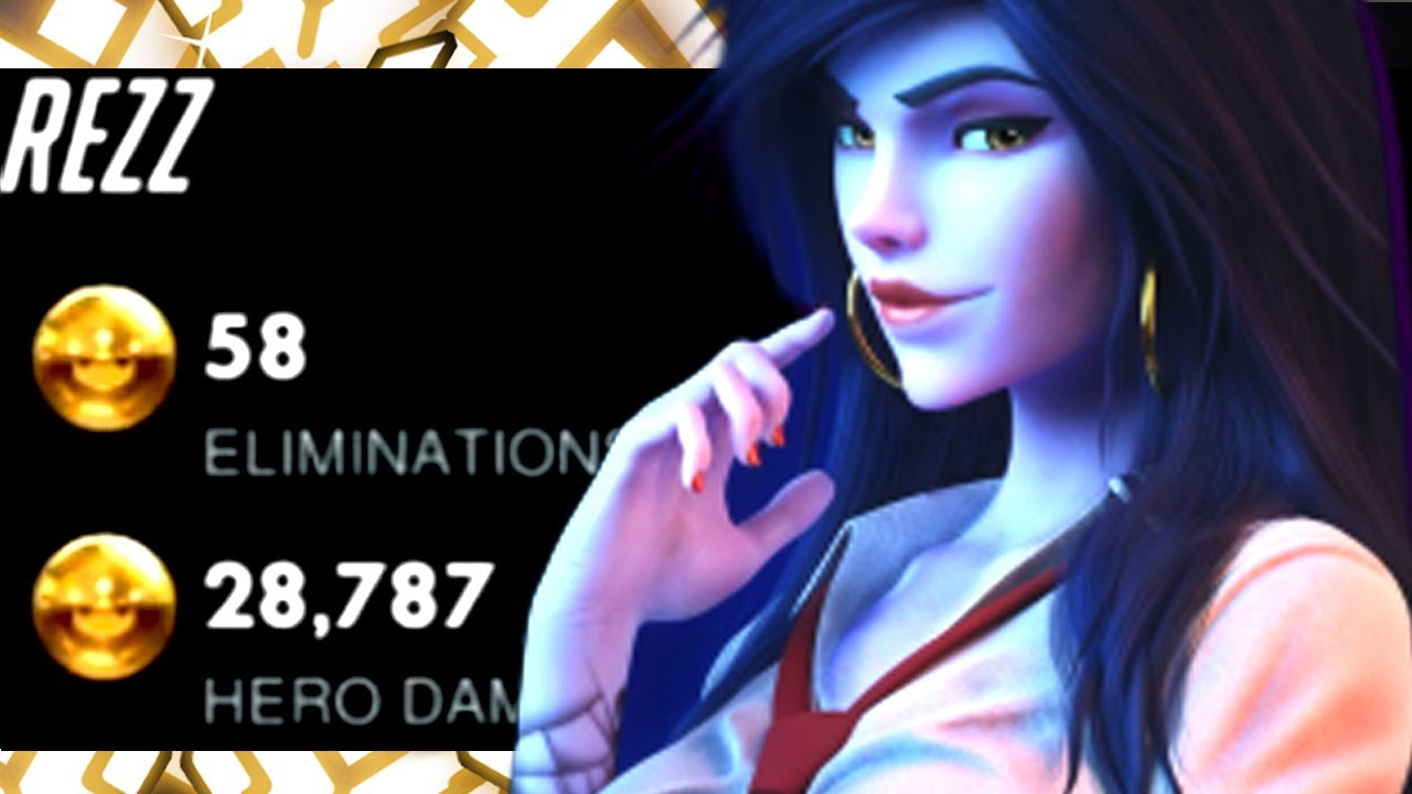 GALE TOP 500 WIDOW AND SOLDIER 76! 58 ELIMS! [ OVERWATCH SEASON 26 ]