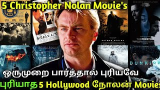 5 Hollywood Different Christopher Nolan Tamil Dubbed Movies Must Watch in Tamil