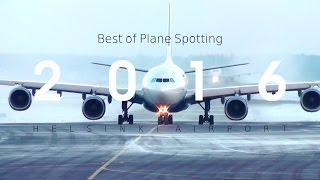 One Year of PLANE SPOTTING at Helsinki Airport (2016)