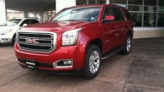 2015 GMC Yukon SLT 4WD (Start Up, In Depth Tour, and Review)