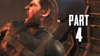 Metal Gear Solid 5 Ground Zeroes Gameplay Walkthrough Part 4 - Renegade Threat (MGS5)