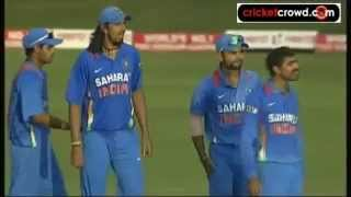 Big fight Jadeja vs Raina   Full Fight