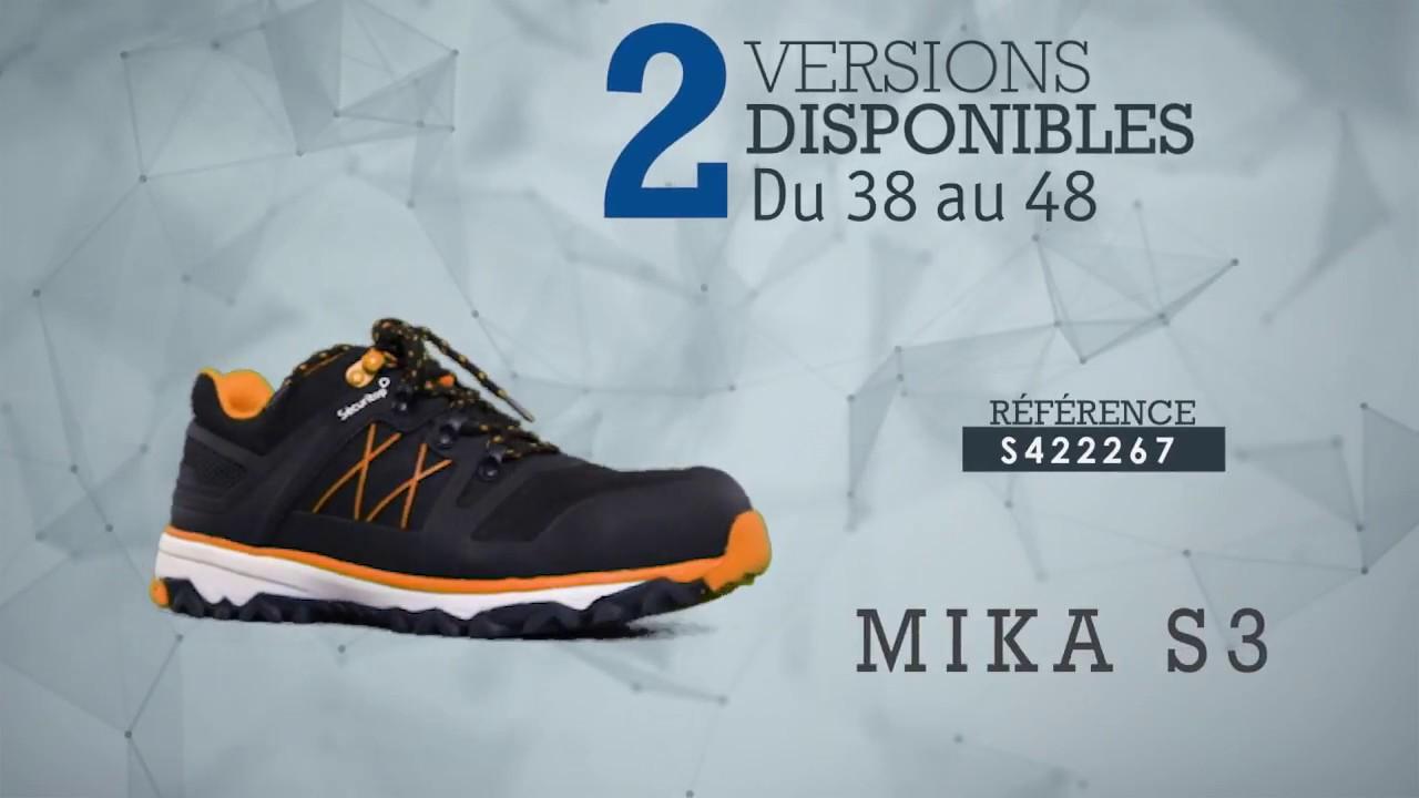 livraison gratuite d0b46 ecba3 Chaussures Sécuritop Mika et Treka - France Sécurité