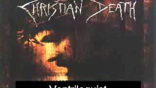 Watch Christian Death Ventriloquist video
