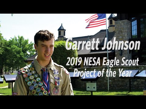 Garrett Johnson, 2019 Eagle Scout Project of the Year