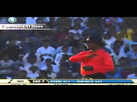 Dhoni strikes century in 3rd ODI
