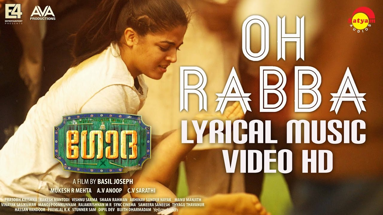Download Oh Rabba Lyrical Music Video HD   Godha   Wamiqa Gabbi   Tovino Thomas   Basil Joseph   Shaan Rahman