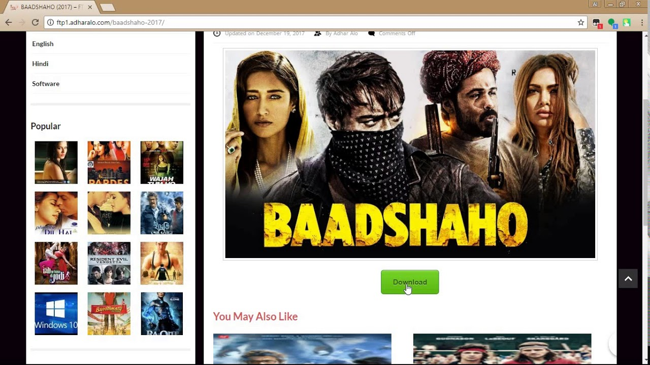 Download badshaho full movie download without torrent