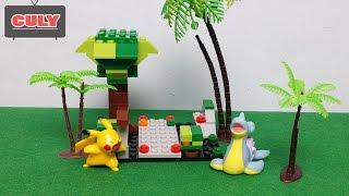 PIKACHU nổi giận Lego Pokemon Go Rapurasu lắp ráp đồ chơi trẻ em toy for kid