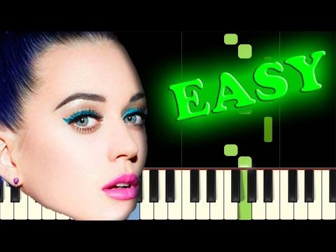 KATY PERRY - ROAR - Easy Piano Tutorial