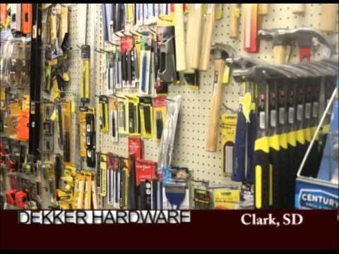 Clark South Dakota's Dekker Hardware On Our Story's The Celebrities