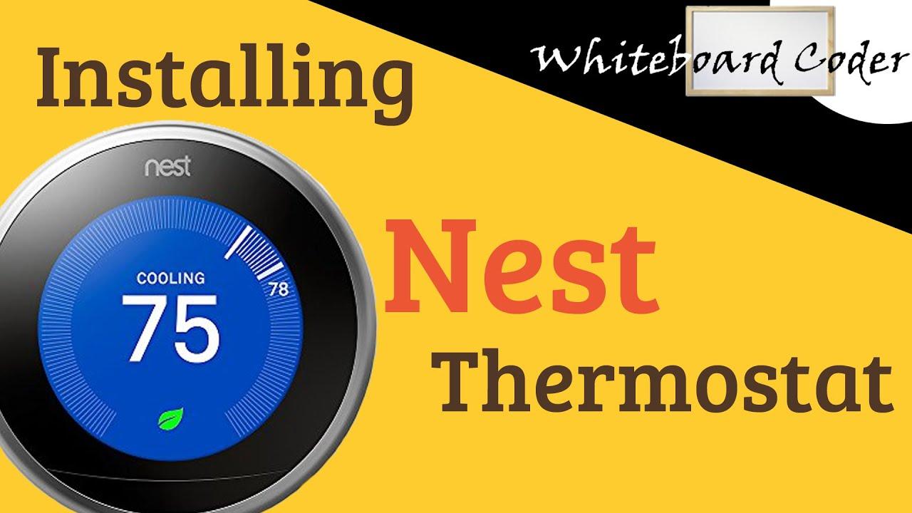 Installing Nest Thermostat