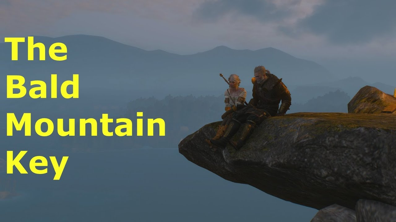The Witcher 3 The Bald Mountain Key Youtube