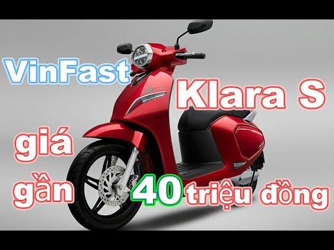 Ra Mắt Xe điện VinFast Klara S, Giá Gần 40 Triệu đồng_Xe 360