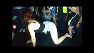 Miley Cyrus Lookalike Wins Twerking Contest - UK Twerking Champs Heat