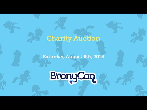 Charity Auction - BronyCon 2015