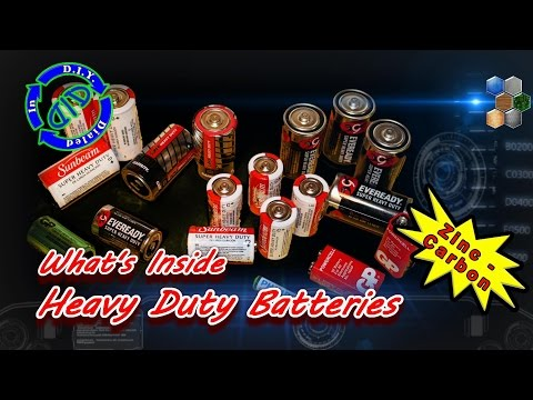 Taking Batteries Apart - Free Carbon Rods & More
