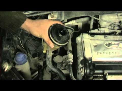 Замена жидкости ГУР Hyundai Getz