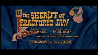 1958 - The Sheriff of Fractured Jaw - La Blonde et le Shérif