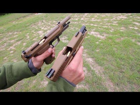 Glock 19X vs Beretta M9A3