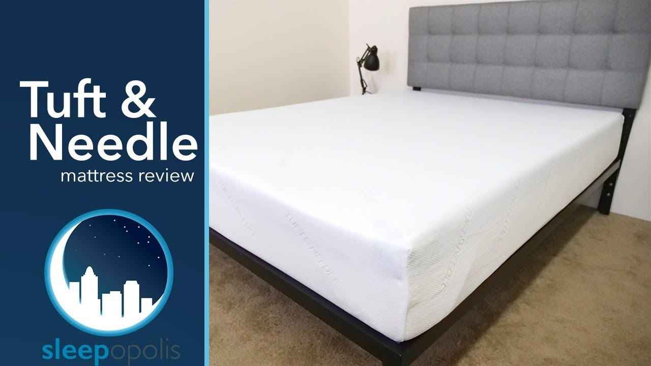 tuft and needle mattress review youtube. Black Bedroom Furniture Sets. Home Design Ideas