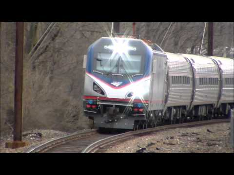 The Pennsylvanian trains 42,43 and Keystones Part 7