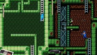 Megaman 3 SnakeMan ~ NES/GENESIS = Gameplay