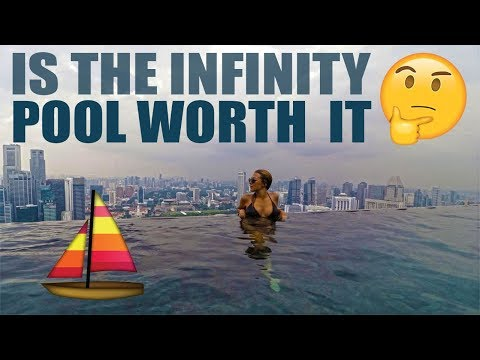 MARINA BAY SANDS HOTEL IN SINGAPORE - Is the infinity pool worth it? ❲V ᴸ ᴼ ᴳ 51❳
