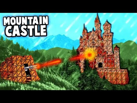 SIEGE of the Mountain Castle Fort!  Secret Technology! (Forts Gameplay)
