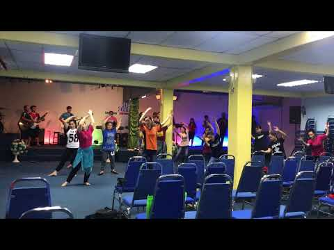 DENGAN APA KAN KUBALAS - SIB ZON SELATAN (DANCE PATTERN)