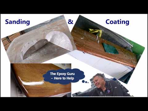 Tips & Tricks: Sanding and Coating timber With Marine Coatings