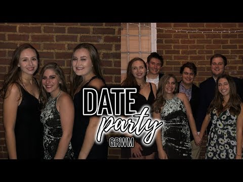 GRWM For A Fraternity DATE PARTY | The Ohio State University