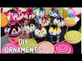DIY CHRISTMAS ORNAMENTS/ CHEAP & EASY / CANDYLAND THEME / PART1