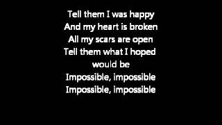Ricardo Bielecki Impossible Lyrics
