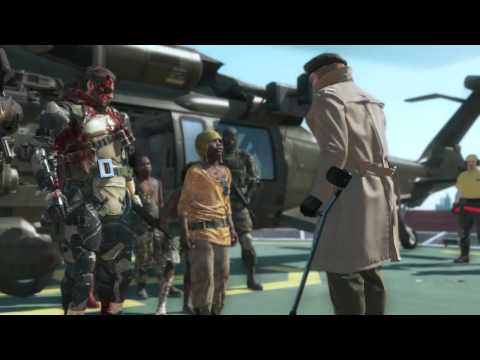 No Room For Angels In Our Heaven (Metal Gear Solid V The Phantom Pain)