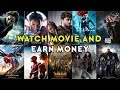 Watch your favorite movies, TV shows, web series and earn money | Make money by watching video