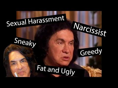 Gene Simmons is a fat sneaky spoiled greedy narcissist