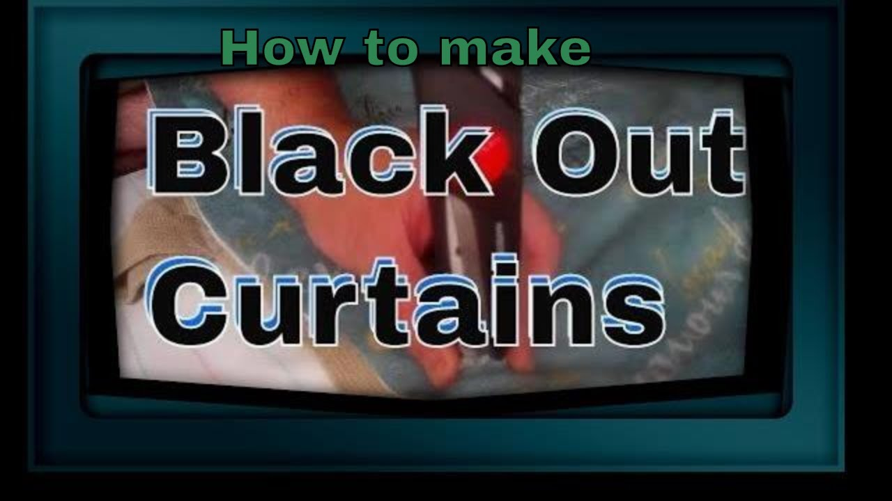 Making curtains with grommets - Making Blackout Curtains Using Grommets
