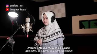 Download Attouna El Toufoule cover by Rifa siti rohmah