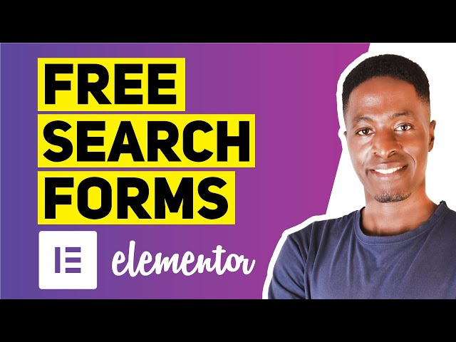 Free Site Search Widgets & Blog Posts Search Widgets for Elementor