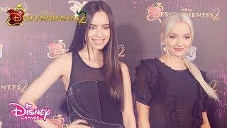 ¡Sofia Carson y Dove Cameron estuvieron en la Avant Premiere de #Descendientes2 en Argentina!
