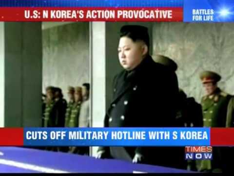 North Korea cuts off hotline with South Korea