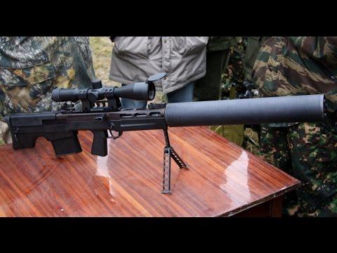 лучшая снайперская винтовка россии!!! - YouTube