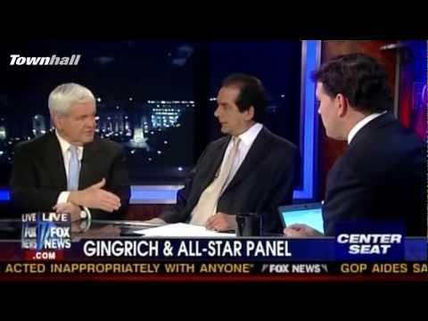 "Gingrich Takes Center Seat On Fox's ""Special Report"""