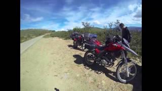 Viaje por Bolivia en moto: Santa Cruz - Uyuni