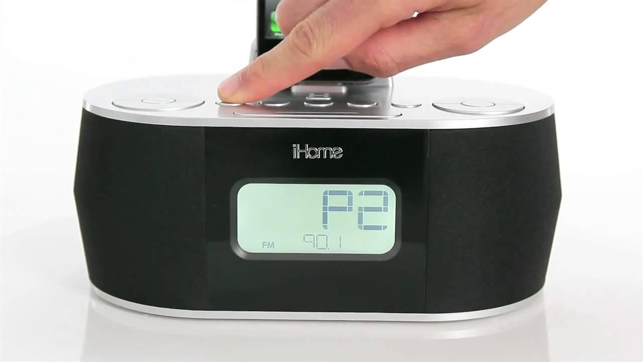ihome id38 app enhanced dual alarm clock for ipad iphone and ipod rh youtube com ihome id38 instruction manual ihome id38 instruction manual