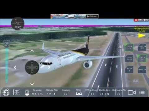 Pro Flight nyc (ups courier Boeing 757 200F) Flight JFK Intl:to:Newark liberty airport EP2
